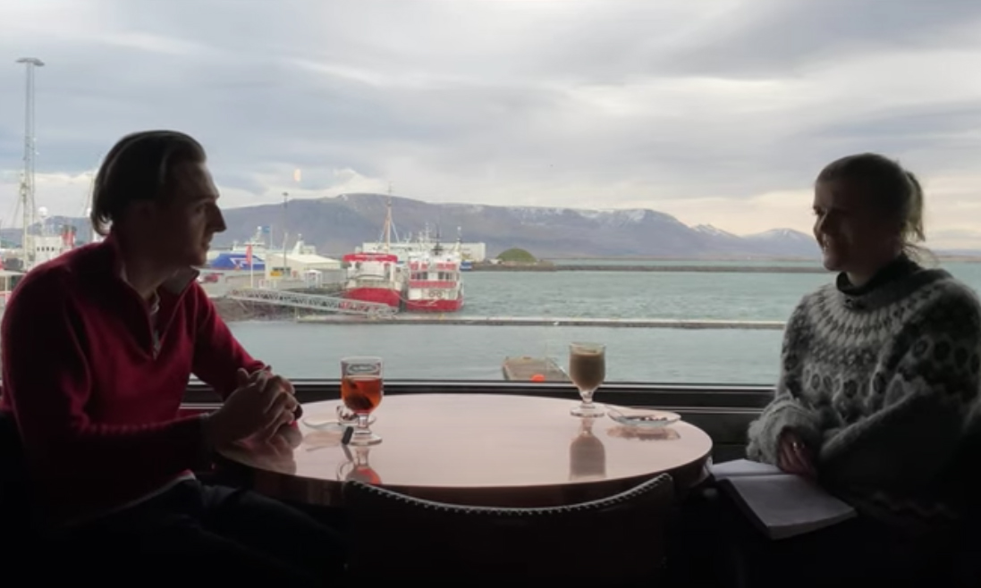 Conversation with the Reykjavik Grapevine