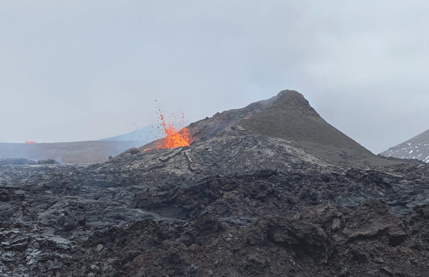 volcanoes in the sagas